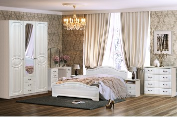 Модульная спальня Кэт-6 Сандал
