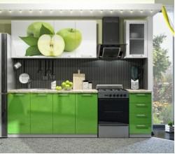 "Кухонный гарнитур ""Олива"" яблоко 1,6; 1,8; 2,0 метра"