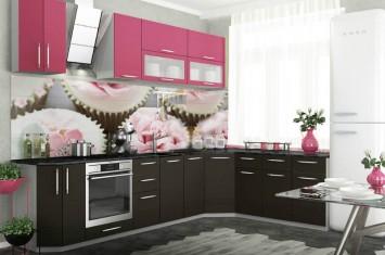"""Модульная кухня  """"Капля"""" 3D матовая"""