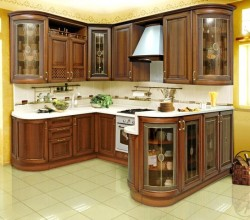 Кухни на заказ «Астория» массив