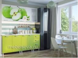 """Кухонный гарнитур  """"Яблоки"""" 1,8 м; 2,0 м."""