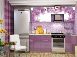"""Кухонный гарнитур """"Орхидея"""" 1,6; 1,8; 2,0; 2,1 метра"""