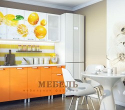 """Кухонный гарнитур  """"Апельсины"""" 1,8 м; 2,0 м."""